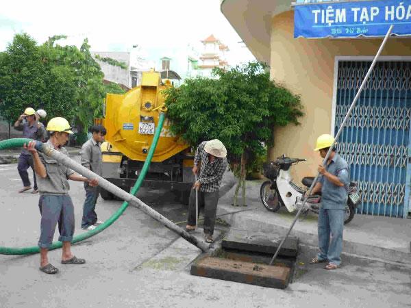 Thông tắc cống, hút bể phốt tại Vinh Nghệ An